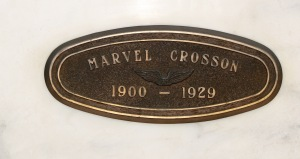 Marvel Crosson's Final Wings